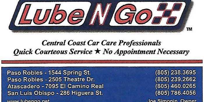 Lube N Go >> Lube N Go Mid State Cruizers